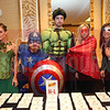 Members of the Charlotte Business Journal staff came out in super hero attire for the Fast 50 event.