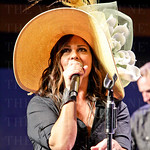 Country Music Artist Sara Evan\'s and her Band, entertained the guest\' with renditions of many of her Top 10 songs.
