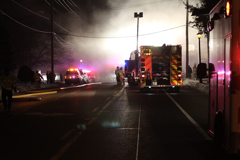 2-24-2015 (Camden County) GLENDORA - 316 Black Horse Pike - Building Fire
