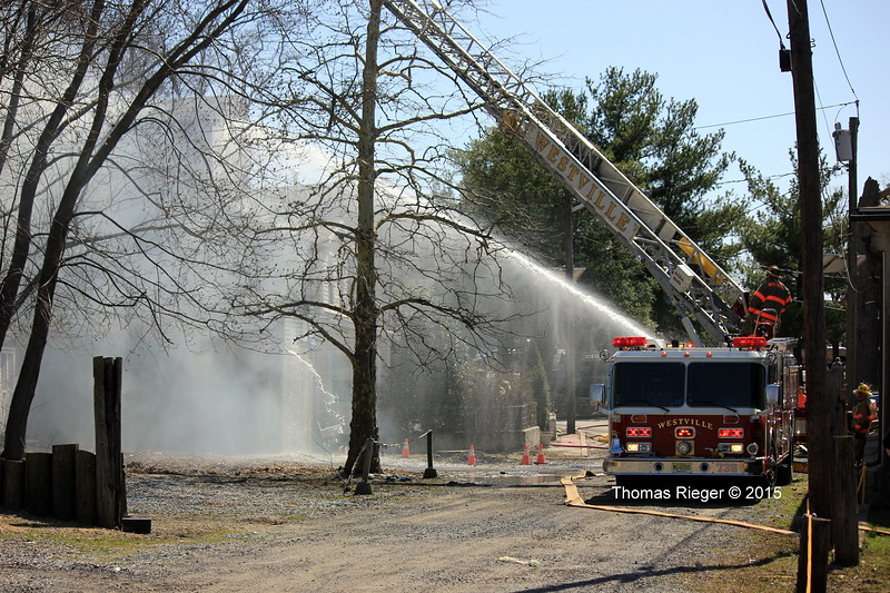 4-6-2015(Gloucester County) WESTVILLE - 7 Edgewater Avenue - Dwelling Fire - All Hands Operating