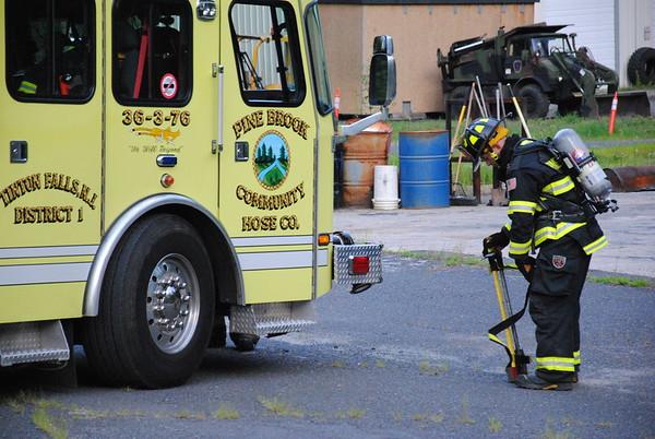 Pine Brook Car Fire Drill 7-22