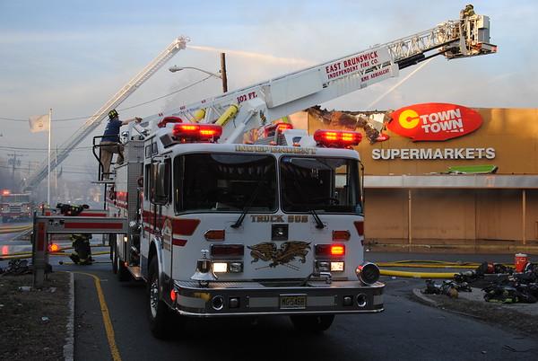 South Amboy 4th Alarm Supermarket Fire