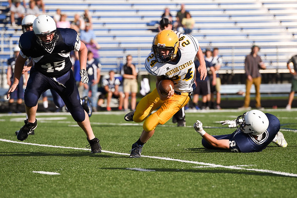 2015-09-24 Portage Central 22, Gull Lake 0