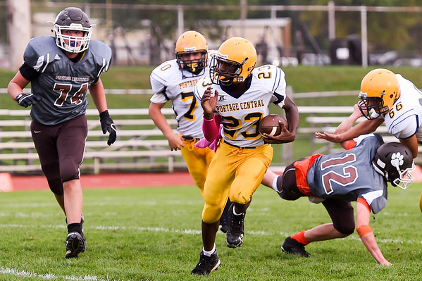 2015-10-08 Portage Central 20, Portage Northern 41