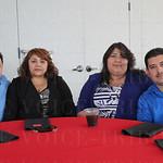 Roman Alvarez, Odilia Cadena, Altagracia and Guillermo Pacheco.
