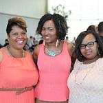 Keondra Best, Angie Thompson and Tanisha Tucker.