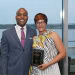 Managing Partner with J. Hagan, Warren Wealth Advisors LLC, Marcus Warren and awardee for the Most Passionate Jill Pryor.