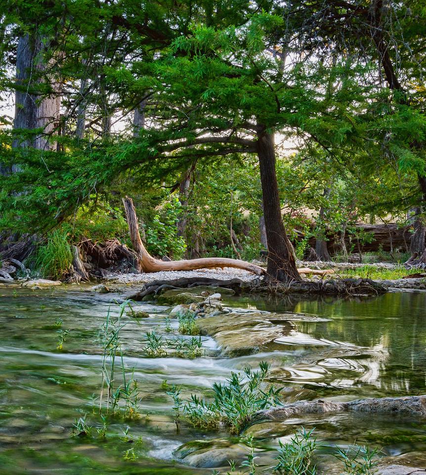 The Sabinal River, Utopia, TX