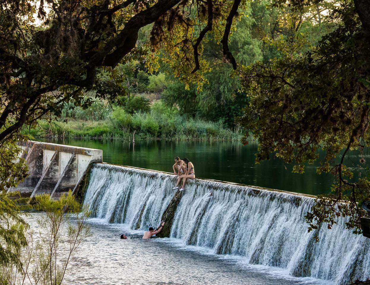 The Sabinal River in Utopia Park