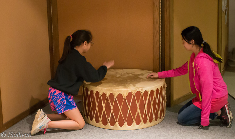 Drumming up some OK fun.