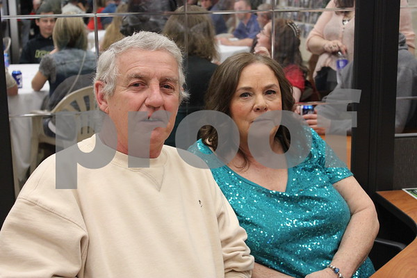Bill and Peggy Gernheart came out to support the Almost Home Animal Shelter at their fundraiser.