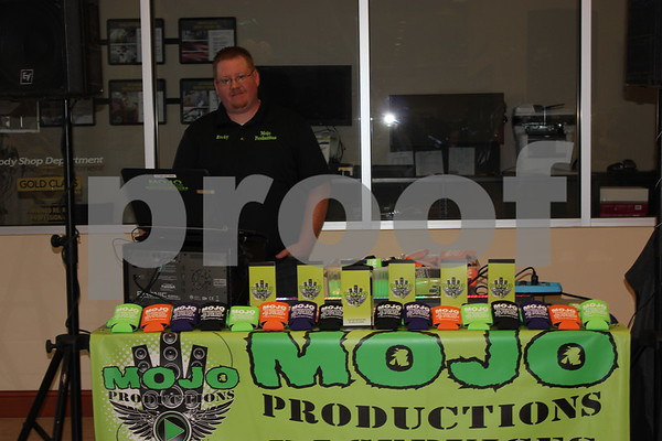Mojo Productions booth.