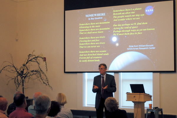 LIFE BEYOND EARTH with John Delano, Distinguished Teaching Professor Emeritus at the University of Albany in the Department of Atmospheric and Environmental Sciences