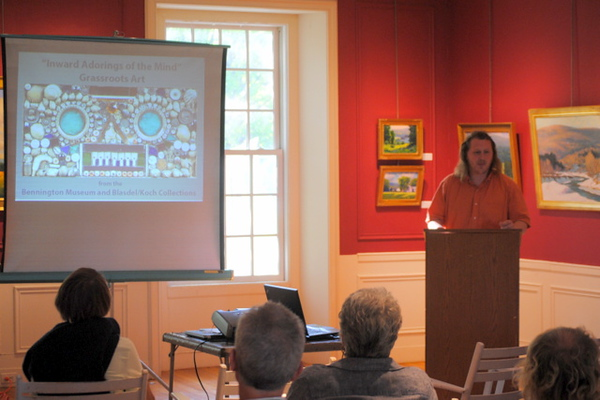 GRASSROOTS ART with Jamie Franklin, curator at the Bennington Museum