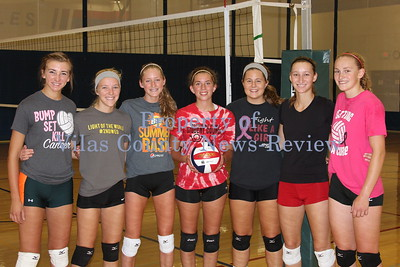Northland Pines Volleyball Letterwinners