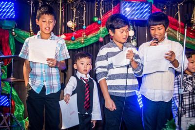 Family Church Christmas:  December 20, 2015