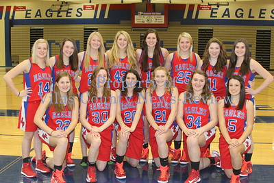 Northland Pines Girls Basketball Team Photo