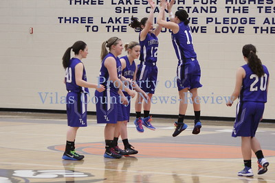 Three Lakes Girls Basketball vs. White Lake