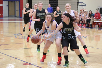Northland Pines Girls Basketball vs. Chequamegon