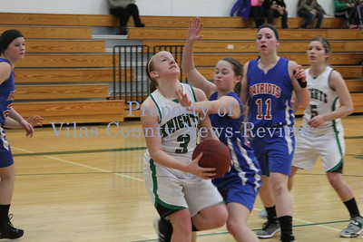 Phelps Girls Basketball vs. Goodman-Pembine