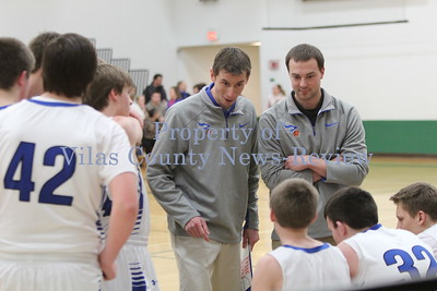 Three Lakes Boys Basketball vs. Phelps