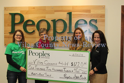 Peoples State Bank Donates