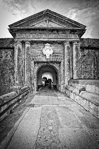 El Moro Entrance