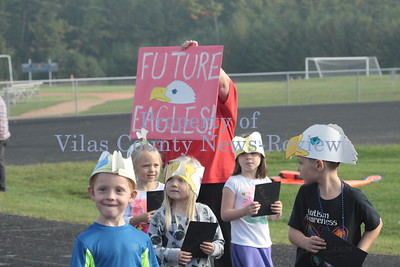 Northland Pines Elementary Homecoming Parade