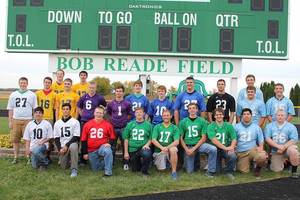Seniors in youth football jerseys 10-27-15