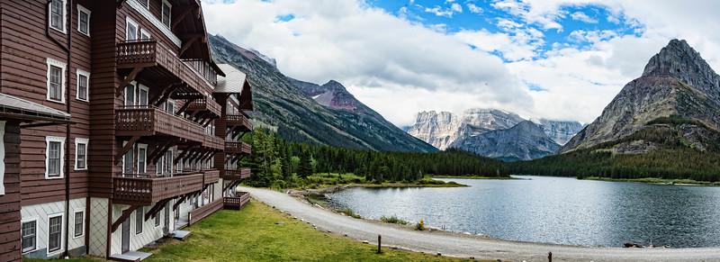Many Glacier Lodge