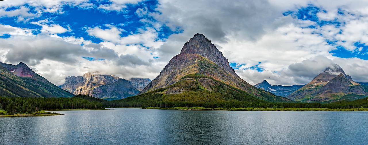 Many Glaciers panorama
