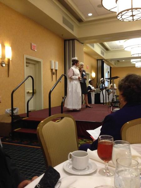 Grady Hospital School of Nursing 2015 Reunion Banquet Uniform Parade