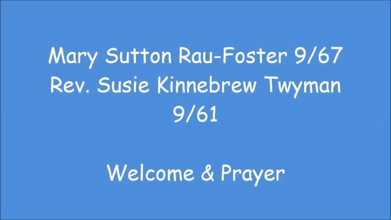 1 Welcome and Prayer