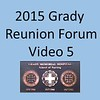 2015 Grady School of Nursing Forum Video 5
