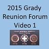 2015 Grady School of Nursing Forum Video 1