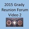 2015 Grady School of Nursing Forum Video 2