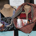 Two Anchal Infinity scarves were silent auction items.