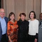 Steve and Terri Bass, Dr. Shiao Woo, Kara Boling and John Shaw-Woo.