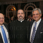Dr. Ramsey Nassar, Father Jon Boukis and Lowell Wainwright.