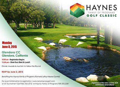 2015 Haynes Family of Programs Golf Classic