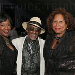 Laura Douglas, Dr. Robert Douglas and Pierre Loving.