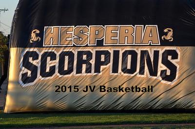 2015 Hespera HS JV Basketball