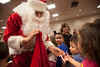 """The Ridgefield Park High School chorus came to Holy Name Medical Center to sing holiday classics for the kids in the """"Our Gang"""" nursery school and staff. Photos by Jeff Rhode / Holy Name Medical Center"""
