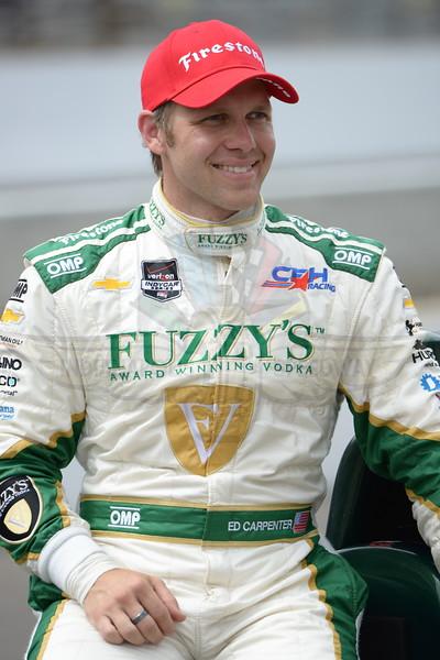 2014 IndyCar Andretti Autosport Kurt Busch Unveiling and Rookie Orientation