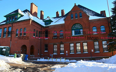 2/3/2015 Mike Orazzi | Staff 1891 The first buiding to be constructed for use as a high school in Bristol is now the home of the Bristol Historical Society.