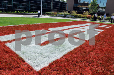 The ESPN campus during Thursday's ceremony honor long time employees.