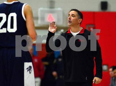 1/2/2015 Mike Orazzi | Staff Berlin'sMike Veneziano during Friday night's basketball in Berlin.