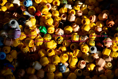 9/16/2015 Mike Orazzi   Staff Lego items for sale at the Bricks & Minifigs store on Queen Street in Southington on Wednesday evening.