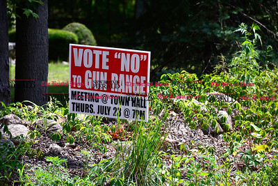 7/28/2015 Mike Orazzi | Staff Plymouth residents up in arms about plan to put firing range on Wolcott Road.