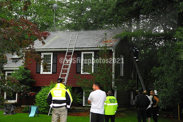 Halifax, MA 2nd Alarm Firefly Dr. August 4th